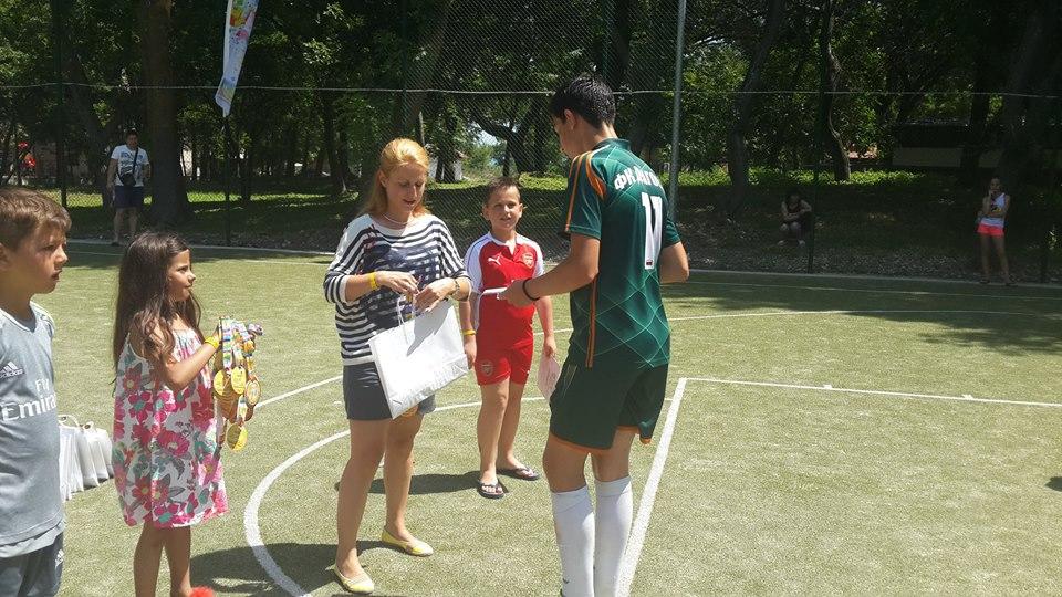 Разглеждате: Турнир по футбол на малки врати в с. Кранево 2016 година