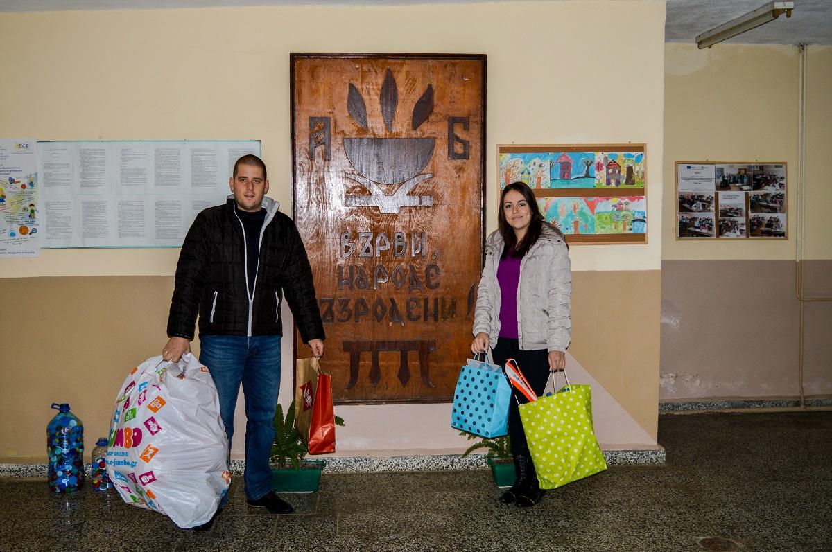 Разглеждате: Младо семейство зарадва децата на град Драгоман с благороден жест